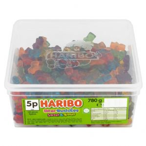 Haribo Bear Buddies Sweet & Sour Tub Of 120